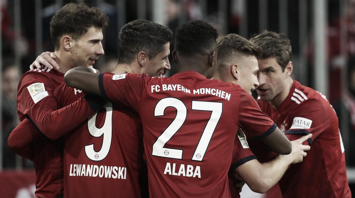 Bayern de Munique goleia Nuremberg e assume a vice-liderança da Bundesliga