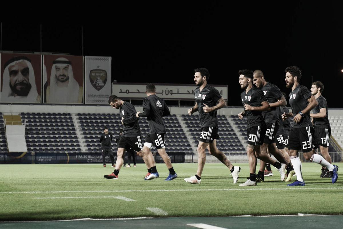El campeón se entrenó en Abu Dhabi