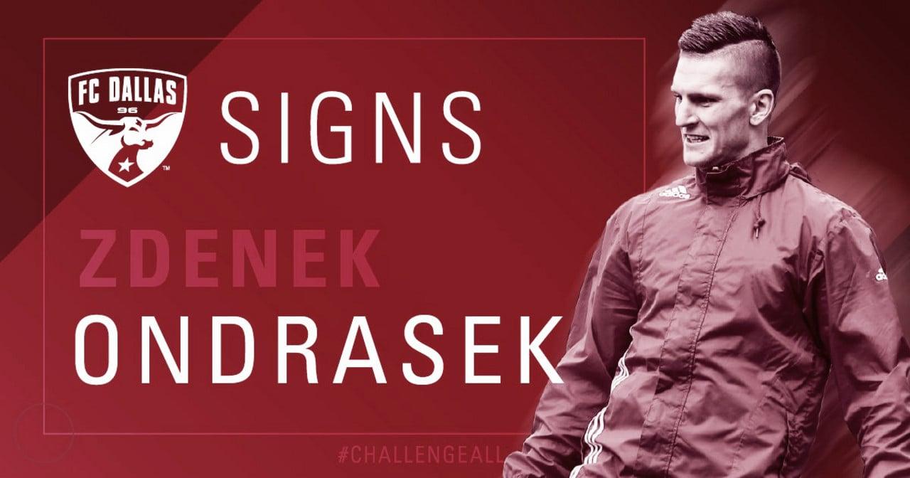 Zdenek Ondrasek jugará en el FC Dallas