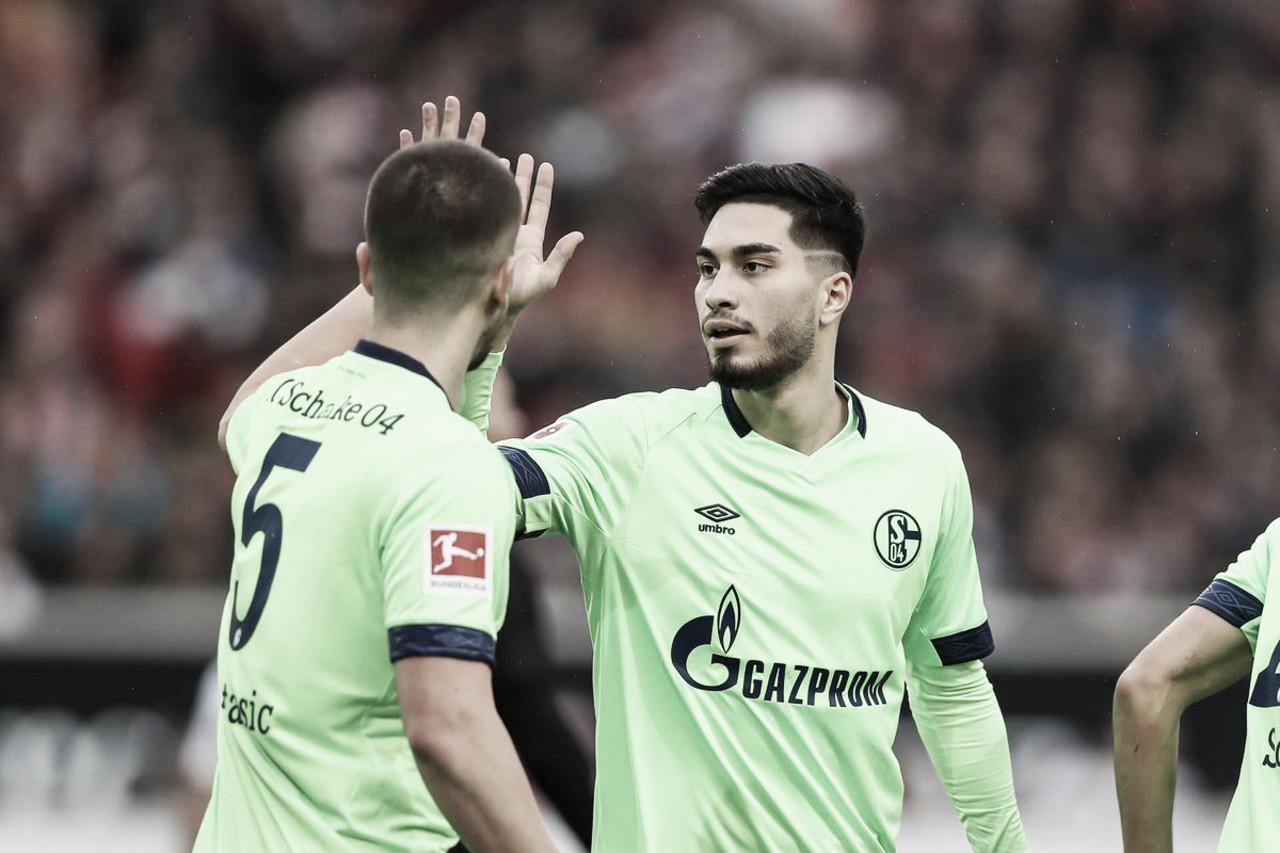 Schalke 04 bate Stuttgart fora de casa e volta a vencer após quatro rodadas