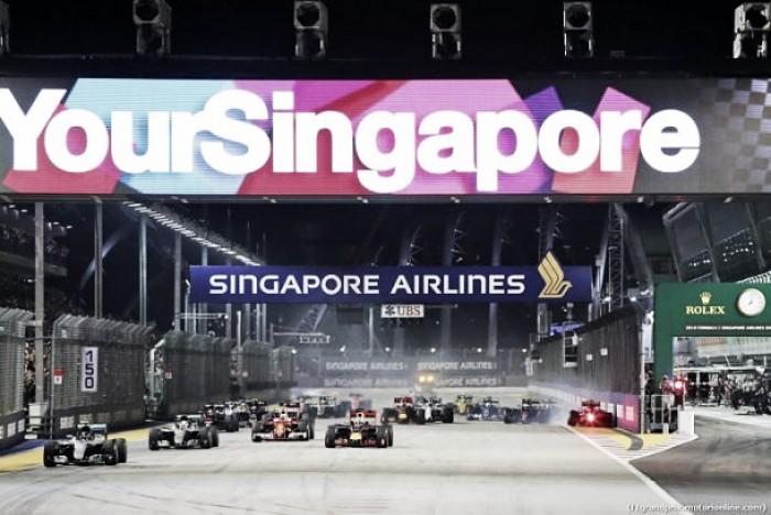La renovación del Gran Premio de Singapur, al caer