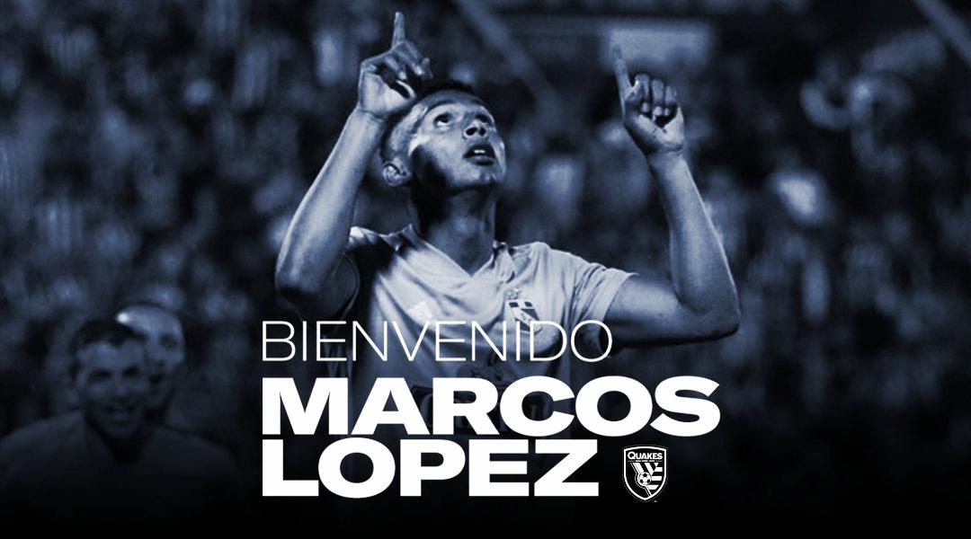 Marcos López jugará en San Jose Earthquakes