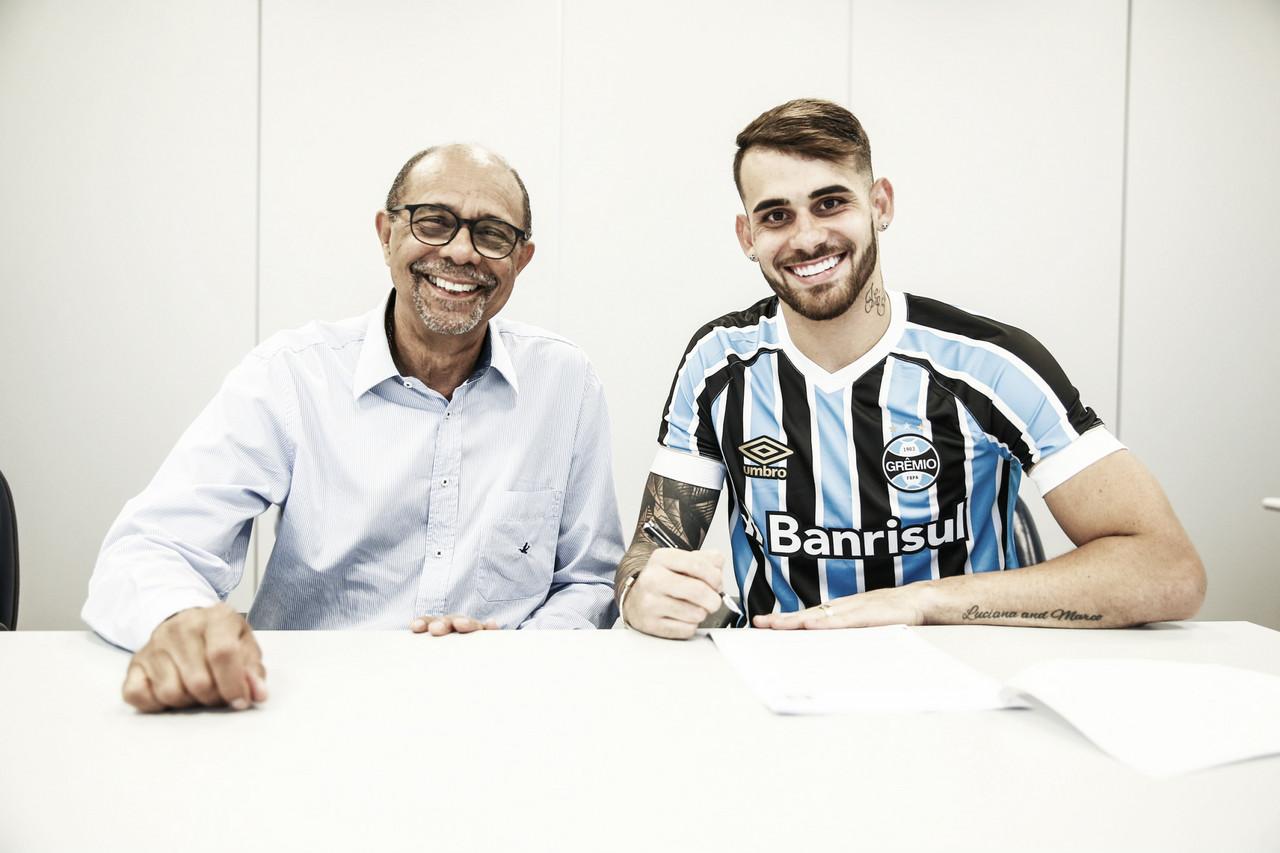 Grêmio confirma contratação do atacante Felipe Vizeu, ex-Flamengo e Udinese