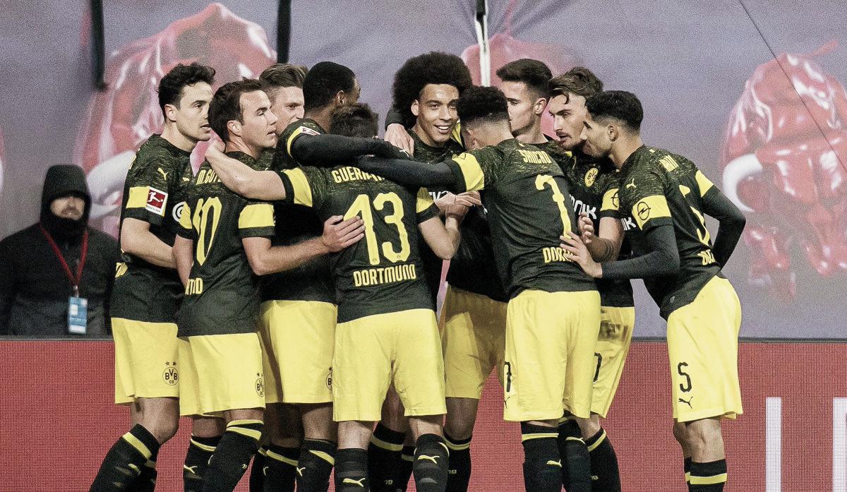 Borussia Dortmund vence RB Leipzig e amplia vantagem na liderança