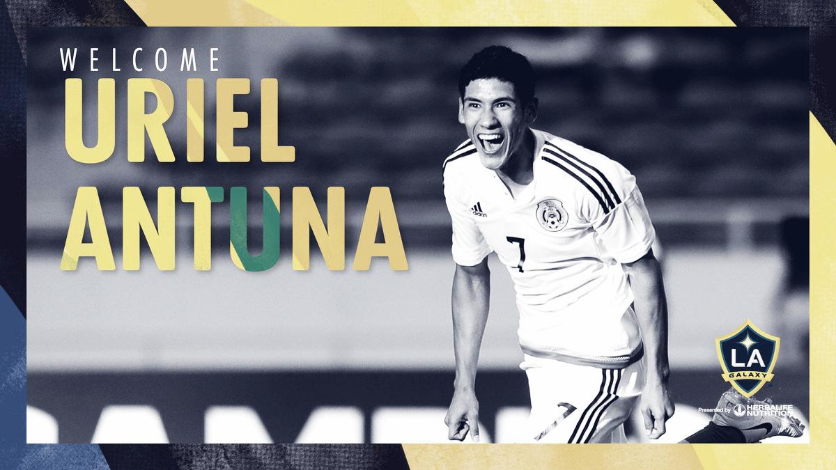 Uriel Antuna jugará en los Angeles Galaxy