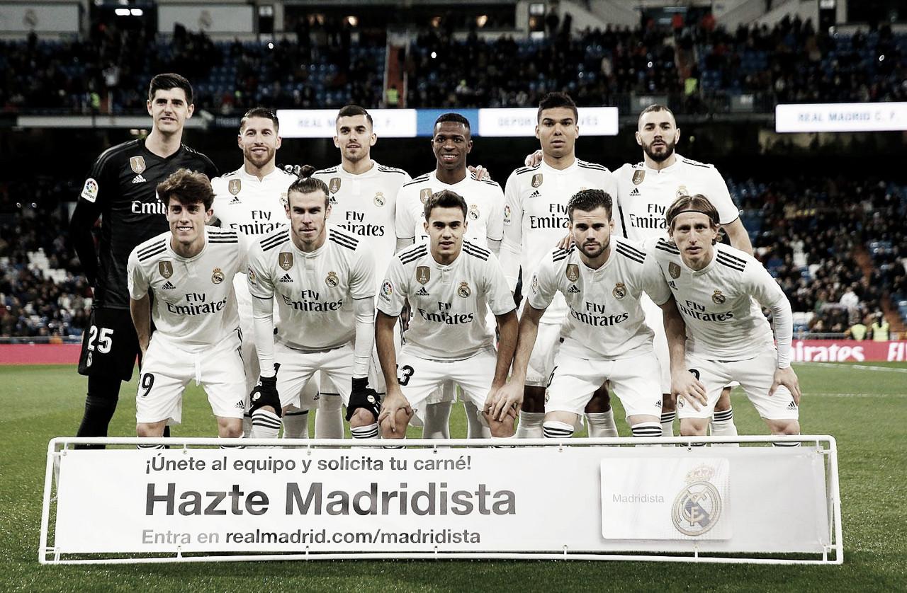 Real Madrid - Alavés: puntuaciones del Real Madrid, jornada 22 La Liga 2018/19