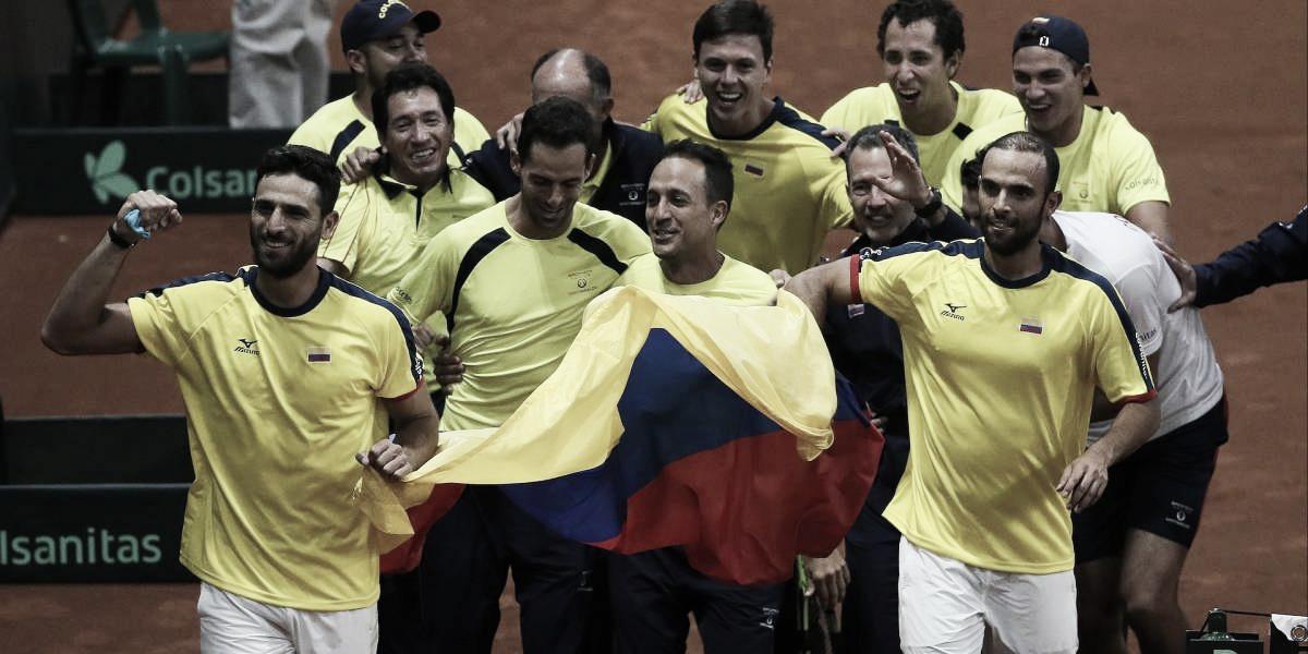 Colombia espera sus rivales para la Copa Davis
