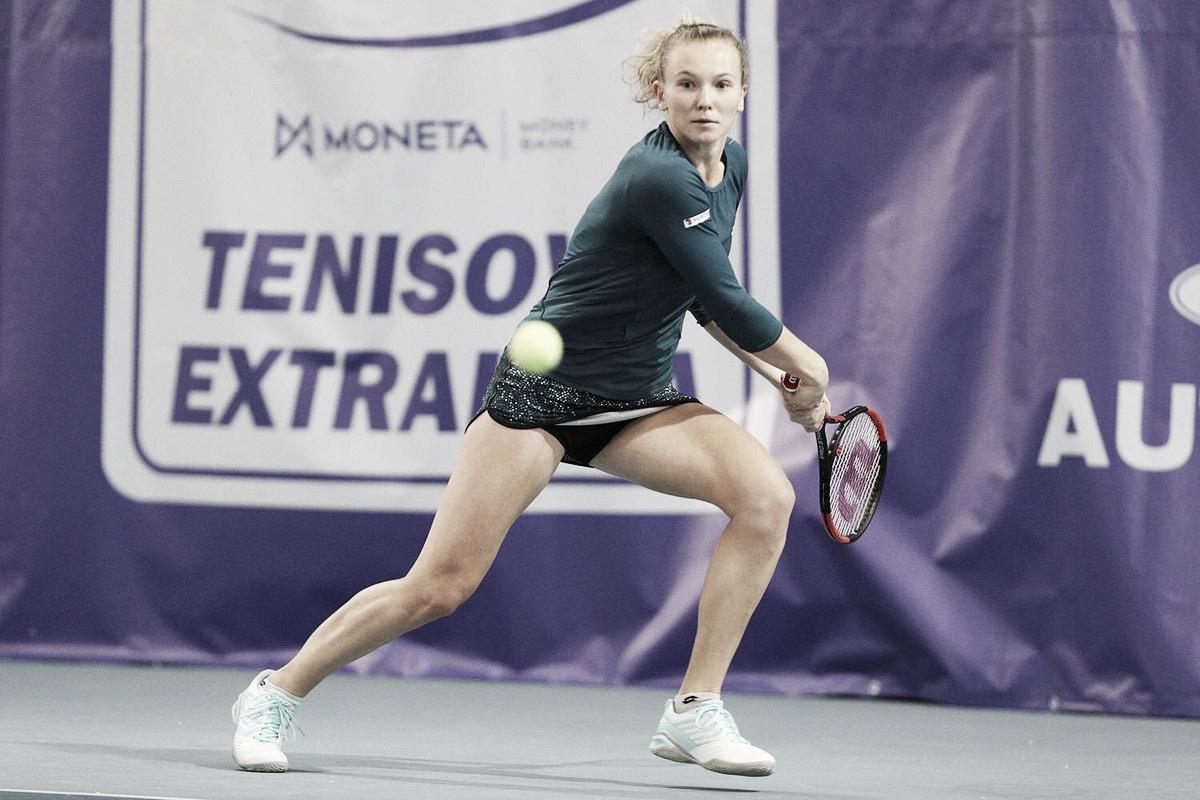 Siniakova faz estreia convincente contra Martic e desafia Kvitova na próxima fase em Dubai