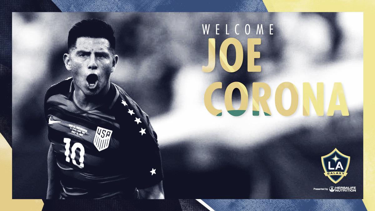 Joe Corona jugará en Los Angeles Galaxy
