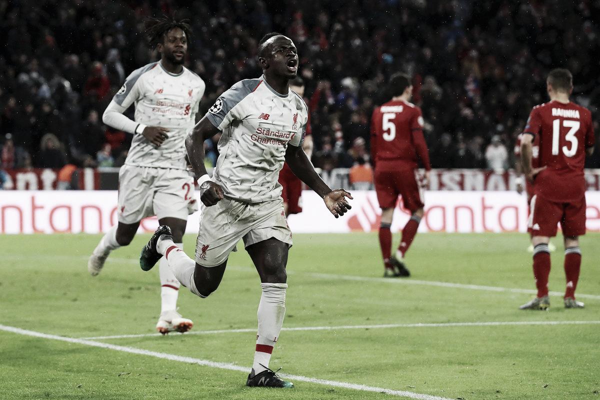 Mané brilha, Neuer falha e Liverpool avança para às quartas da Champions