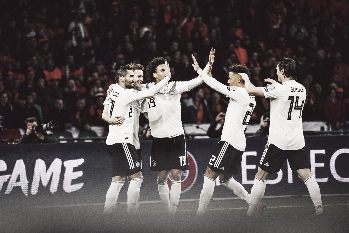 Schulz marca no fim e Alemanha vira sobre Holanda pelas eliminatórias da Euro