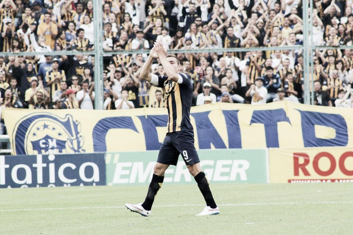 Marco Ruben evalúa la chance de dejar Rosario Central