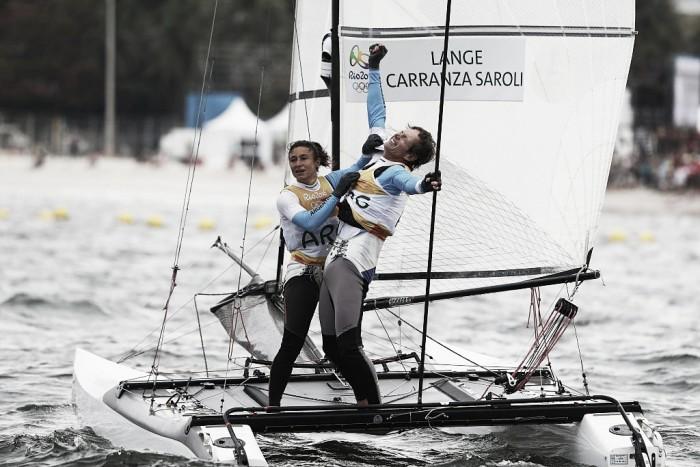 Río 2016: ¡LANGE Y CARRANZA SON CAMPEONES OLÍMPICOS!