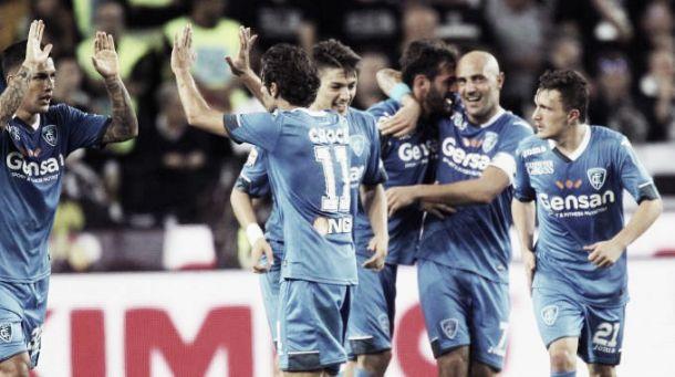 """L'Empoli espugna il """"Friuli"""" e conquista la prima vittoria in campionato"""