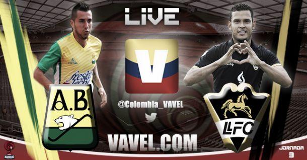 Resultado Bucaramanga - Llaneros en el Torneo Águila 2015 (3-1)
