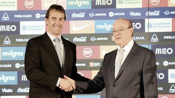 Julen Lopetegui, nuevo entrenador del Oporto
