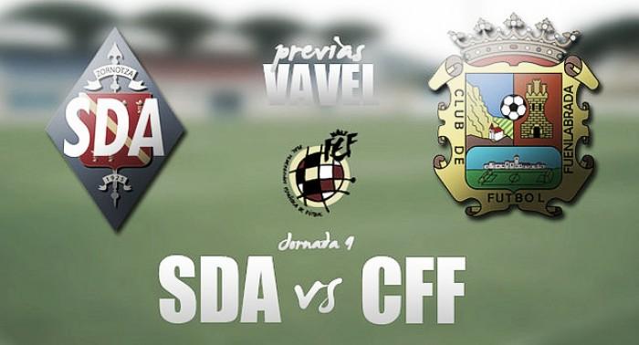 SD Amorebieta - CF Fuenlabrada: por un futuro de color de rosa