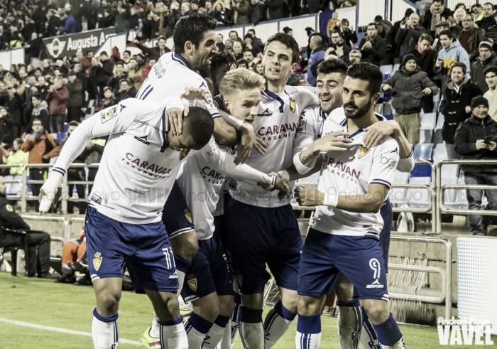 Fotos e imágenes del Real Zaragoza 1-0 CD Leganés, de la jornada 24 de Segunda División