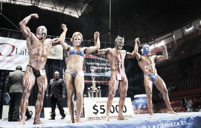 Preparan concurso de fisicoculturismo del CMLL