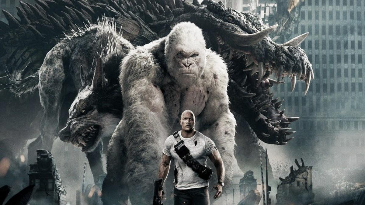 'Rampage -- destruição total' é a única estreia nos cinemas