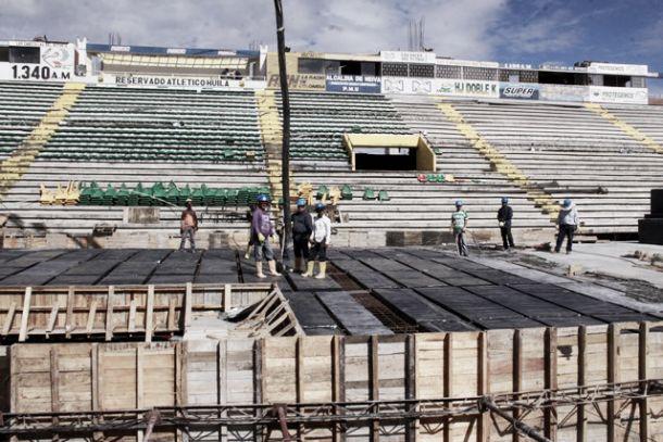 Así continúa la remodelación del Estadio Guillermo Plazas Alcid