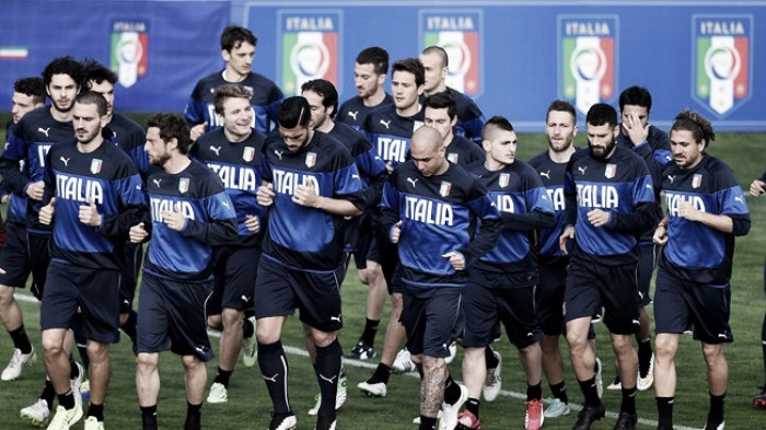 Conte names provisional Italy Euro 2016 squad