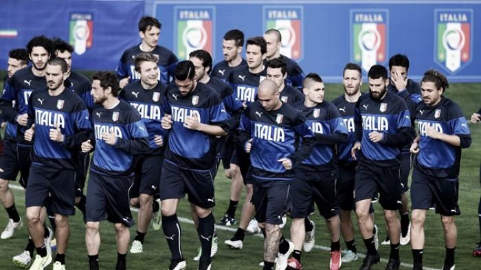 Conte names provisional Italy Euro 2016 squad