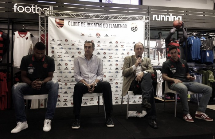 Flamengo apresenta Humberto e Fischer como reforços para equipe de Basquete