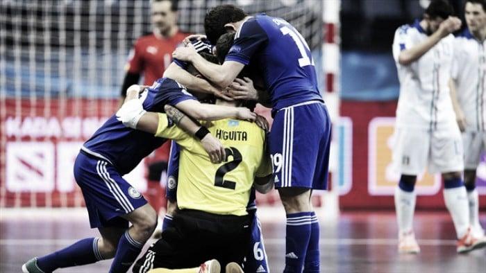 Italia claudica ante la magia táctica kazaja