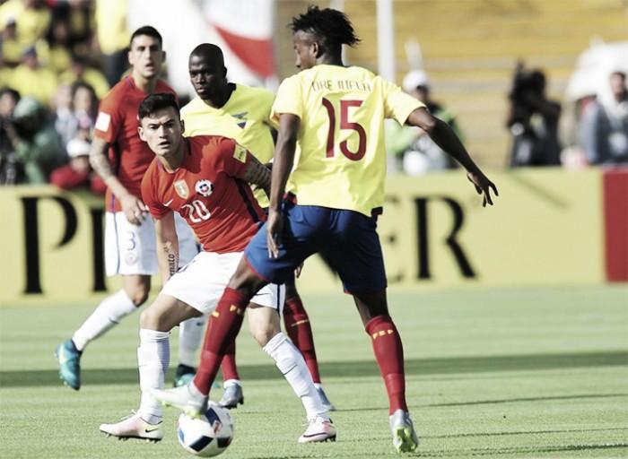 Jogador do Flu em 2017, Orejuela brilha em vitória do Equador nas Eliminatórias
