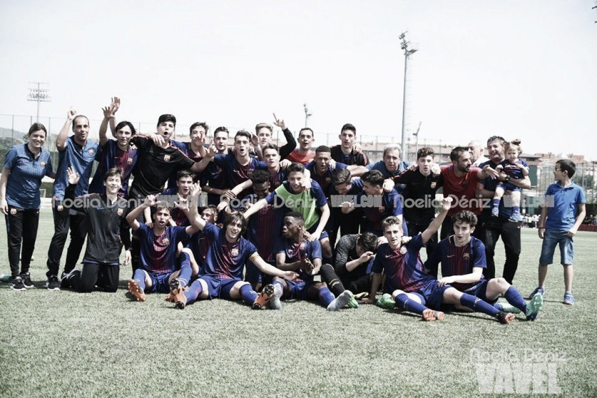 El FCB Cadete A campeón de la Copa Catalunya