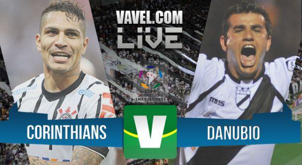 Corinthians x Danubio   na Copa Libertadores 2015 (4-0)