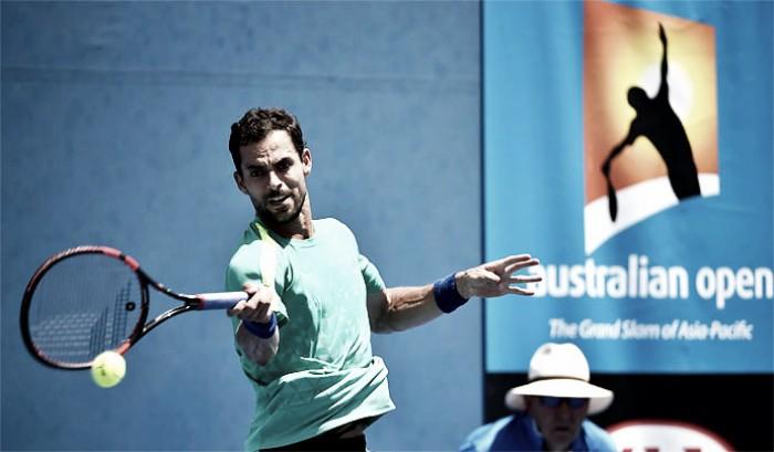 Santiago Giraldo quedó eliminado del Australian Open