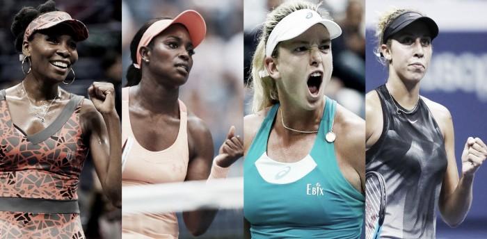 Anfitriãs de respeito: tenistas norte-americanas dão show no US Open e quebram tabu histórico