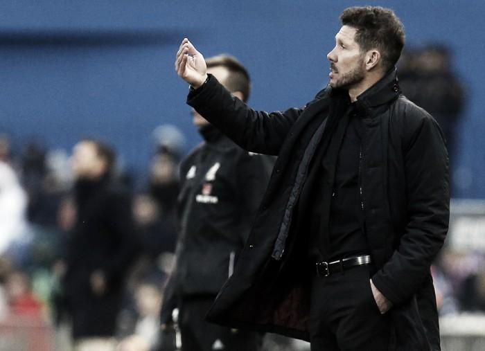 """Simeone enaltece vitória sobre Las Palmas e avalia ano do Atlético de Madrid: """"Extraordinário"""""""