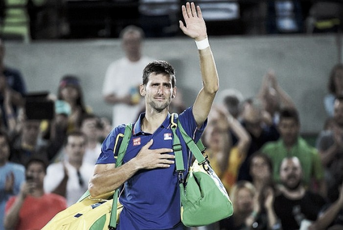 Eliminado na Rio 2016, Djokovic desiste do Masters de Cincinnati por lesão no pulso