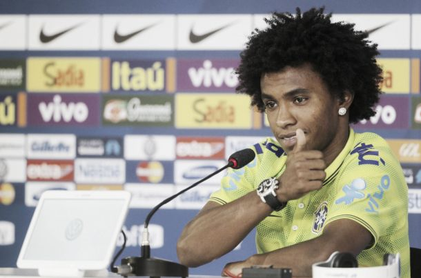 """Cotado para substituir Neymar, Willian garante: """"Estamos preparados"""""""