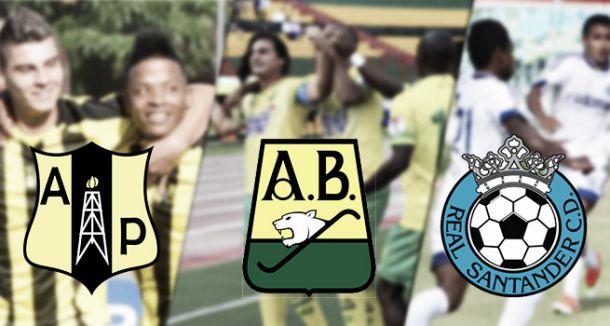 Actualidad de los tres equipos santandereanos
