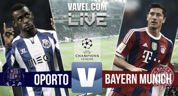 Resultado Porto - Bayern Múnich en la Champions League 2015 (3-1)