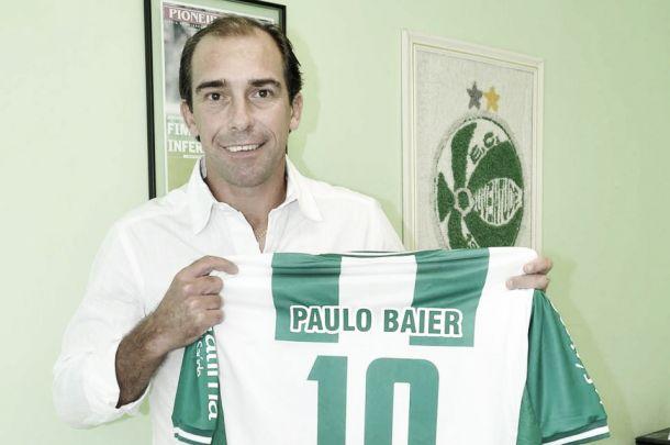 Paulo Baier é confirmado como novo reforço do Juventude para disputa da Série C