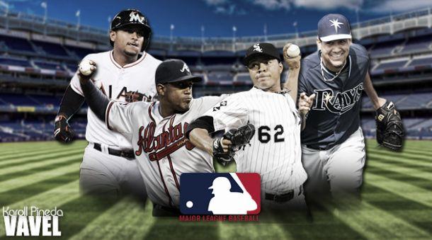 Cuatro colombianos confirmados para la temporada 2015 de la MLB