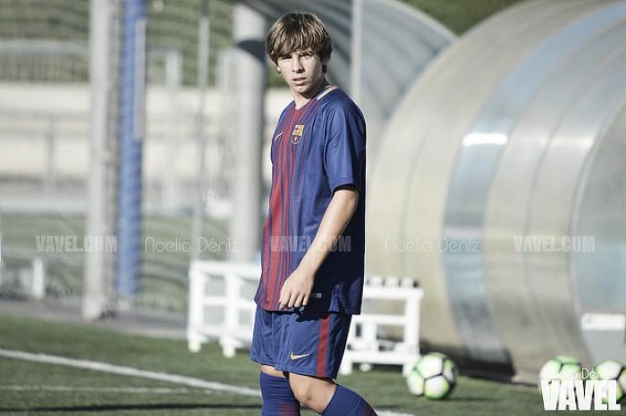 Adrià Bernabé, reaparición a ritmo de gol