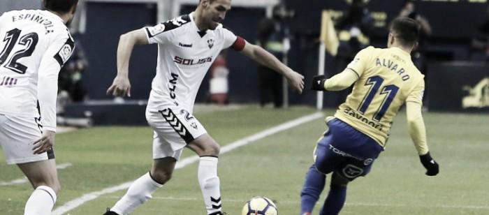 Cádiz CF - Albacete Balompié: puntuaciones del Albacete, jornada 17 de Liga 1|2|3
