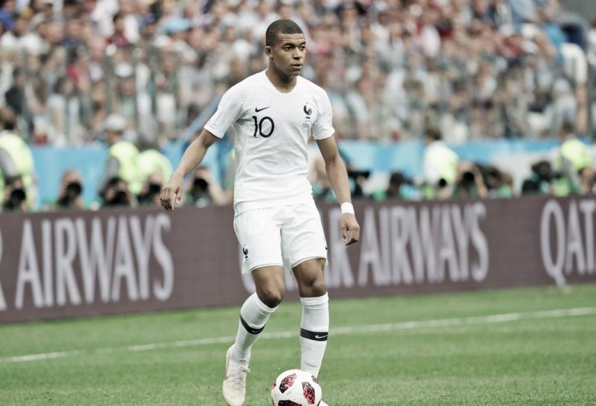 Mbappé escolhe seus cinco melhores do mundo e não inclui Lionel Messi na lista