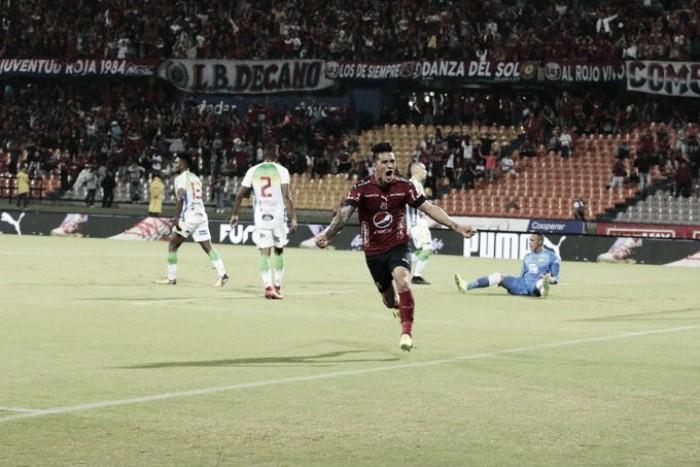 Independiente Medellín goleó al Atlético Huila en el debut de Liga