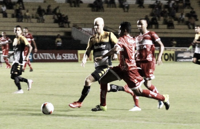 De virada, Tigre vence o CRB