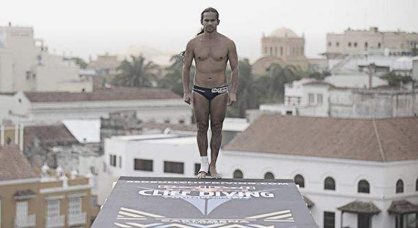 Todo listo para el Red Bull Cliff Diving en Cartagena
