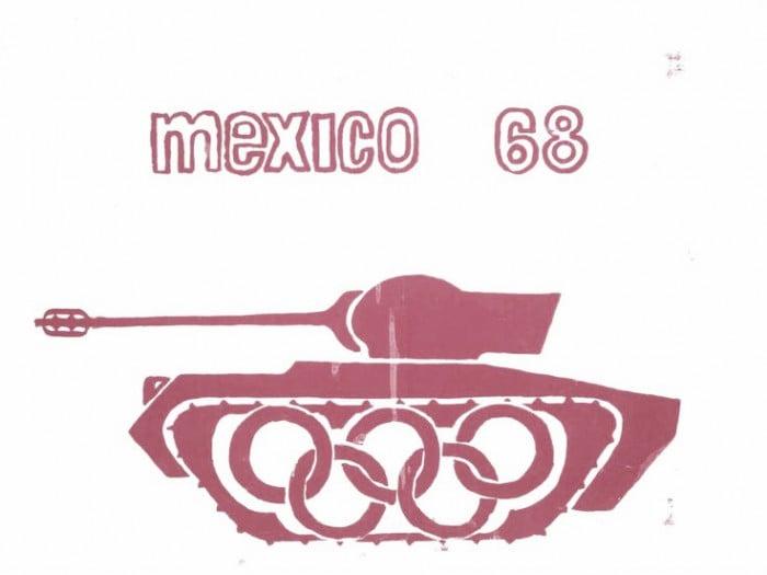 México 1968: la política llego para quedarse