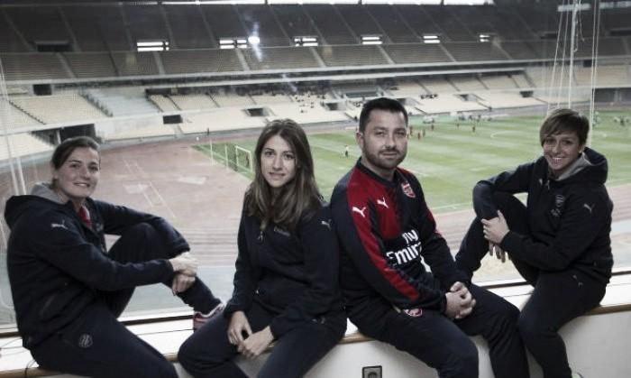 Spanish trio Corredera, Losada and Pablos ready to shine for Arsenal Ladies