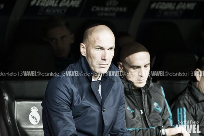 """Zidane: """"Me molesta que se hable mal de mis jugadores"""""""